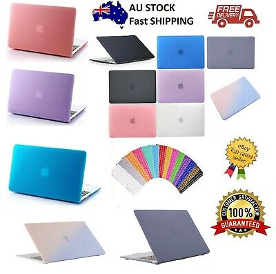 "Macbook Rubberized Hard Case Shell+Keyboard Cover for Pro 13/15"" Air 11/13"" Inch"
