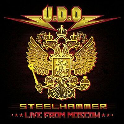 U.D.O. - Steelhammer - Live From Moscow (Dvd+2cd)