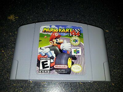 AU Version For Nintendo 64 N64 Game Card Mario Kart 64 Video Cartridge Console