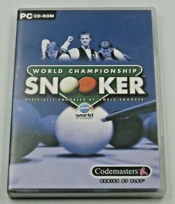 World Championship Snooker (PC CD ROM) Complete