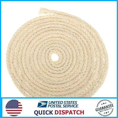 3m Long 3/16 Inch Diameter Round Cotton Wicks Burner For Oil Kerosene Alcohol