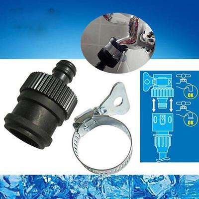 Universal Garden Lawn Car Water Hose Pipe Fitting Tap Fittings Connector YI