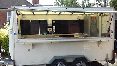 Catering Trailer, High specification, Fully Fitted Twin axle, Lynton Load Lugger