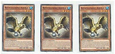 Set 3 Carte D/D SAPIENTE GALILEO in Italiano DOCS-IT091 Comune YUGIOH Yu-Gi-Oh!