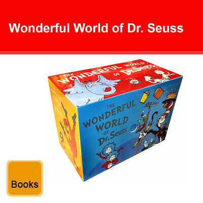 The Wonderful World of Dr Seuss Complete collection 20 books box set pack NEW H