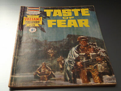 VALIANT PICTURE LIBRARY,NO 72,1966 ISSUE,GOOD FOR AGE,53 yrs old,RARE COMIC.