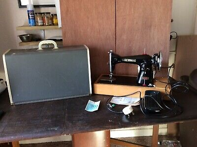 Vintage Sewmac (jones) Electric Sewing Machine,Semi Industrial Superb Condition.