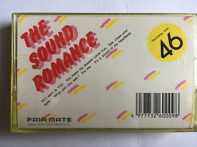 Fairmate The Sound Romance 46 Used Audio Cassette Japan In Perfect Shape