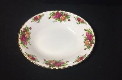 Royal Albert Old Country Roses Oval Vegetable Serving Bowl England 1962