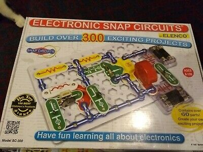 Snap Circuits Sc-300 Electronics Projects Kit