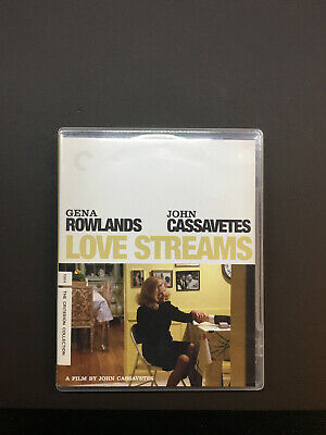 Love Streams (Blu-ray/DVD, 2014, Criterion) CASSAVETES, FREE SHIPPING