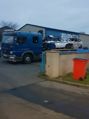 Mercedes atego recovery