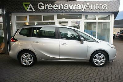 2013 Vauxhall Zafira Tourer Exclusiv Great Value 7 Seater  Mpv Petrol