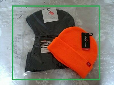 3M Thinsulate Sub-Zero Thermal Safety Helmet / Hard Hat Liner Sub Zero & Beanie