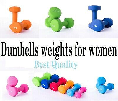 KG Physio Premium quality dumbells for women and men, sold as a set of 2...