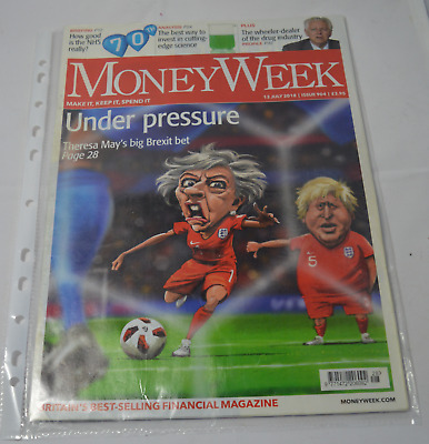 Money week Magazine Under Pressure Issue 904 2018
