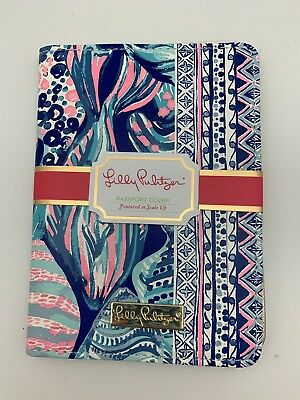 77345d8ec91 LILLY PULITZER PASSPORT Case with Luggage Tag Set Beach Loot ...