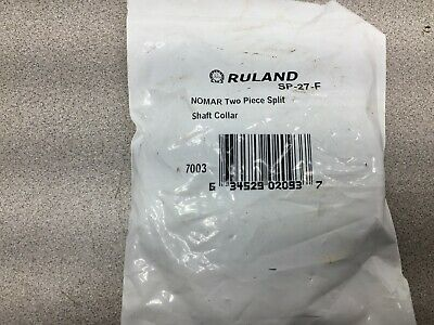 New In Bag Ruland 1-11/16 Split Locking Collar Sp-27-F
