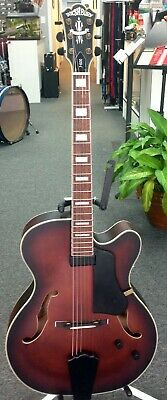 Washburn J600K Flame Maple Arch Top Jazz Guitar - Blem