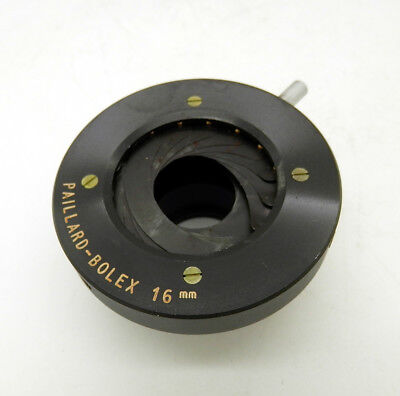 Palliard Bolex 16mm Fader Diaphragm
