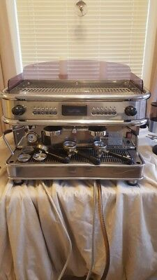 2 Group BFC Monza Coffee Machine and  auto stop Macap MXA grinder