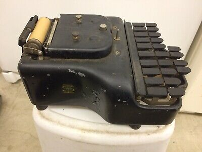 From Estate Vintage No.3 Stenotype Stenographer OLD!!