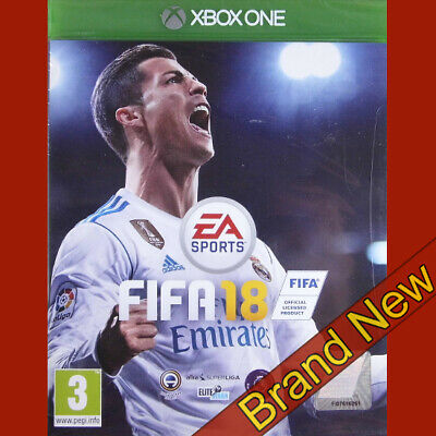 FIFA 18 - Microsoft Xbox ONE ~3+ Brand New & Sealed