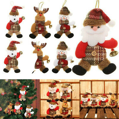 Doll Bell Christmas Tree Hanging Ornament Xmas New Year Festival Decor Lovely