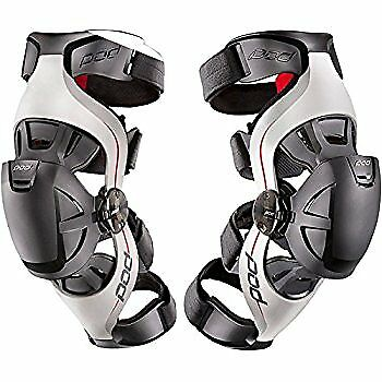 Pod Mx K4 Knee Braces Pair Motocross Mx Off Road Enduro Adult New Guards