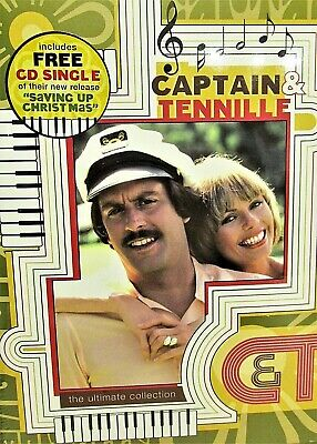 Captain  Tennille - Ultimate Collection NEW! 3 DVD Jokes,TV Variety,Music,Guest
