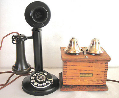 Western Electric 51Al #2 Dial Antique Telephone Very Rare Large Liberty Bells