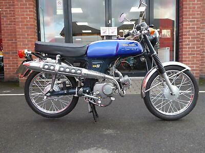 Honda SS50 1976 4 Speed Sports moped just been professionally restored