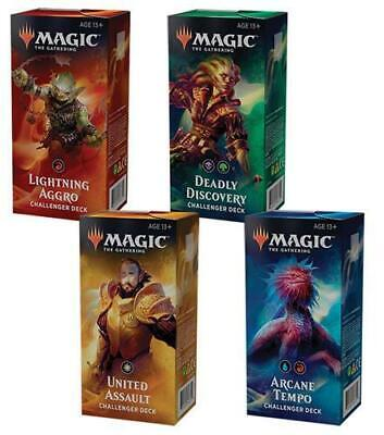 MTG Magic the Gathering New 2019 Challenger Decks Sealed SET OF ALL 4 DECKS