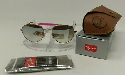 22be25a7732fb New RAY BAN Sunglasses RB3540 198 9U 53 140 Bronze-Copper Silver Gradient  Flash