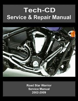 yamaha road star 1700 service manual