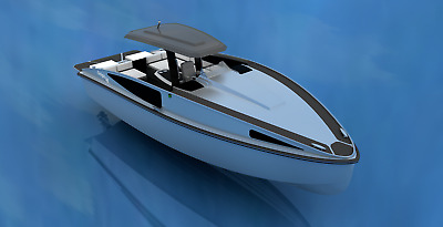 Boat Project - Dolph 36 (AutoCAD and 3D Model)