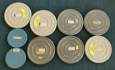 Lot 9 Vintage 8 mm Film Home Movies Vacations Trips Calif, Mex  ETC 1940s-1970's