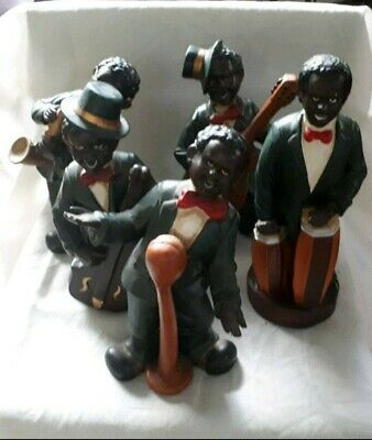 10 New Orleans Jazz Band Figuren Set´s 60 Miniatur Figuren 6 Teilig Kunststein