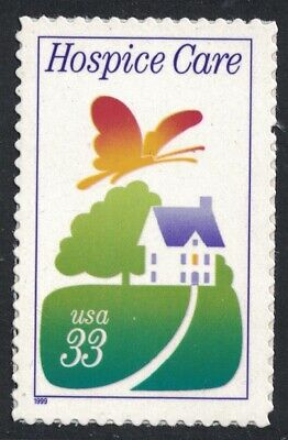 Scott 3276- Hospice Care, Comfort of Home- MNH (S/A) 1999- 33c unused mint stamp