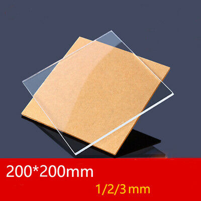 Plastic Clear Sheet Methacrylate Acrylic Board Plexiglass Organic Glass