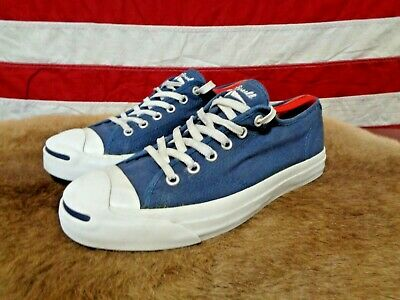 0ceff93b06eb VINTAGE 90s JACK PURCELL CONVERSE BLUE CANVAS MENS 6 LOW TOP SNEAKERS  WOMENS 7.5
