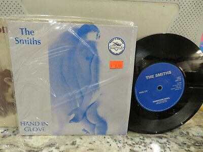 TOP COPY THE SMITHS HAND IN GLOVE 45 Vinyl Record Rough Trade ‎N. MINT- 1 OF 500