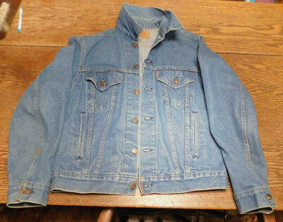 Vintage Levi's Denim Jacket Size 40 Trucker 70506-0216