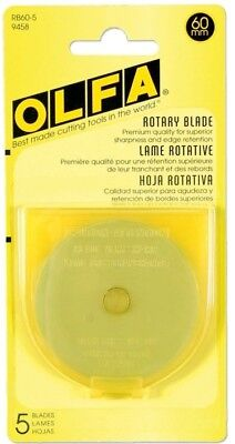 OLFA 60mm Rotary Blade (5 pack) RB60-5