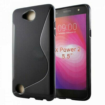 Ultra Thin Soft TPU SiliconeJelly Bumper Back Cover Case for LG X Power 2