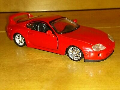 Toyota Supra Japanese Sports Car In 1/43 Scale +Excellent Condition+Modified.
