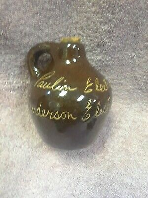 Bybee Pottery Advertising Paulin Electric Henderson Electric Ky Scratch Jug