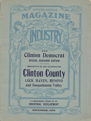 Magazine of Industry - Business Sketches (Clinton County, PA, 1909)