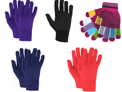 Dublin Adults Pimple Grip Everyday Riding Gloves One Size Stretchy/Magic gloves