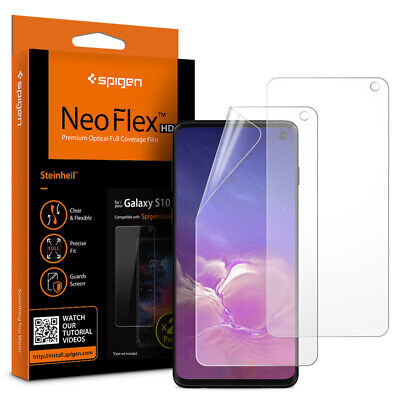 Galaxy S10, S10 Plus, S10e Screen Protector Spigen® [Neo Flex] Full Cover [2-PK]